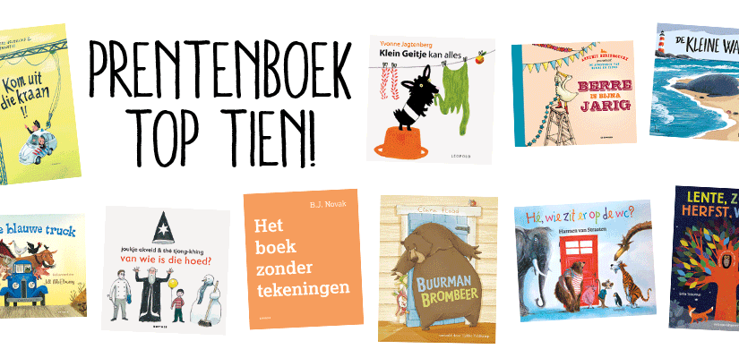Top 10 prentenboek 2017